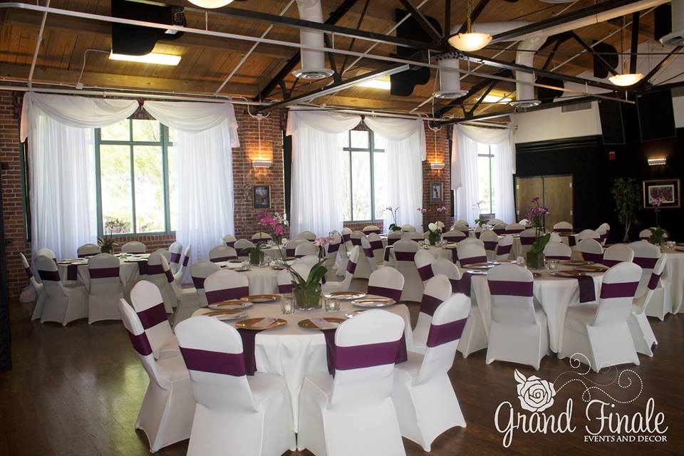 Wedding Reception Decor Bessie Smith Cultural Center Chattanooga Tn