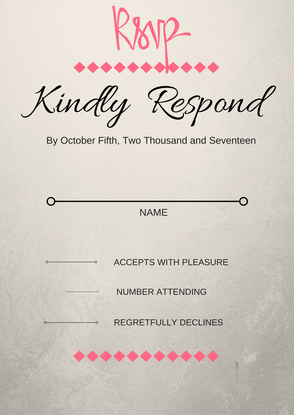 wedding invitation what does rsvp mean and the importance of it